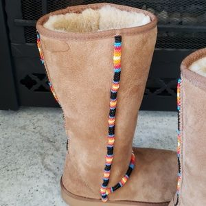 Shoes - Custom Beaded Boots